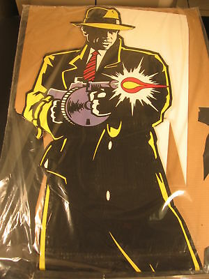 Lot (6) 1990 Dick Tracy Standee