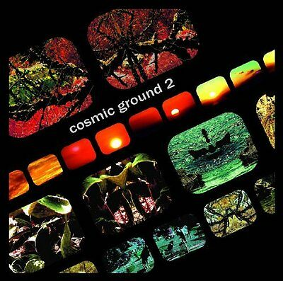 COSMIC GROUND - Cosmic Ground 2 - LP (green red/transparent) 2015 Deep Distance