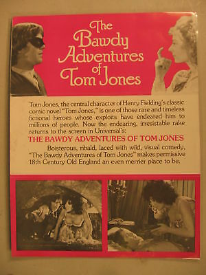 1976 Movie Herald The Bawdy Adventures of Tom Jones