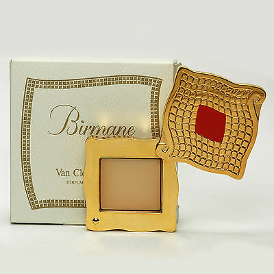 Van Cleef and Arpels BIRMANE SOLID PERFUME Compact 0.05 Oz1.5 g New in Box