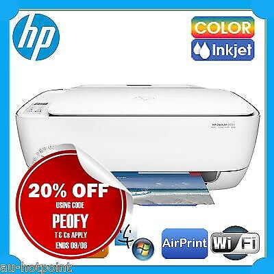 HP Deskjet 3630 All-in-One Wireless Color Inkjet Printer+AirPrint [P/N:F5S43A]