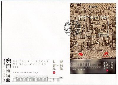 Macau Macao Stamp 2013 Museums & Their Collections Iii-Historical Village Fdc+Ss