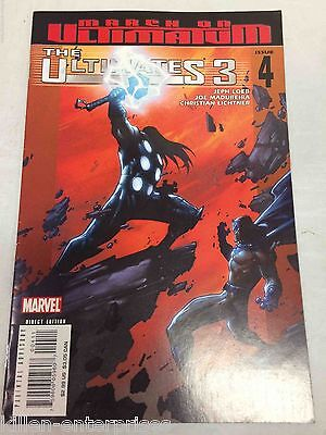 The Ultimates 3 #4 Comic Book Marvel 2007