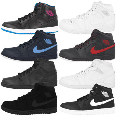 Nike Air Jordan 1 Mid Schuhe Basketball High Top Sneaker Son Of Force Sc-3 Max