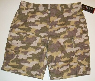 3077839925 New Under Armour Men's Ironsides Cargo Golf Shorts Choose Size Camo  Camouflage