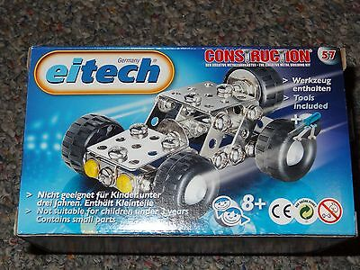 Eitech Small Jeep C57 Metal Construction Building Toy Steel