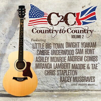 Various Artists : Country to Country - Volume 2 CD (2016) ***NEW*** Great Value