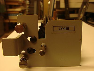 Comb Punch Die Unknown brand