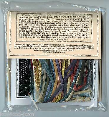 Hitty's Braided Rug kit by Gail Wilson, rugmaking braid ~ LAST ONE, discontinued