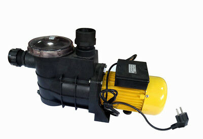 Aluminum 3/4 Hp Electric Water Pump W/ Strainer Pool Spa Fountain Pond Garden