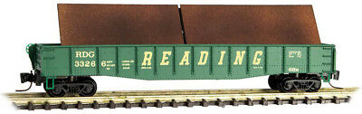 Micro-Trains MTL Z-Scale 50ft. Gondola/Steel Plate Load Reading Lines #33266