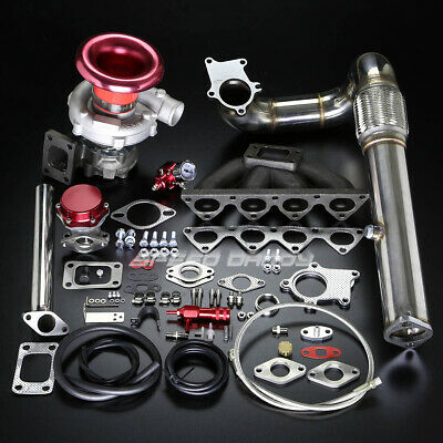 Ac Compatible B-Series B16 B18 T04E Stage Ii Turbo Charger Manifold Kit Em Dc