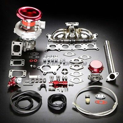 B5 B6 T04E Stage Ii Turbo Charger Manifold Upgrade Kit Boost For 97-06 A4/passat