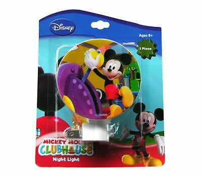Disney Mickey Mouse Nursery Bedroom Night Light Lamp NEW