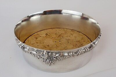 WALLACE BAROQUE Silverplate Wine or Champagne Coaster