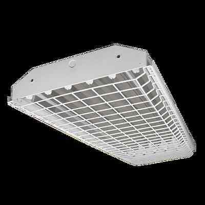 6 Lamp T5HO High bay Fluorescent Light Fixture *WITH WIREGUARD* NEW