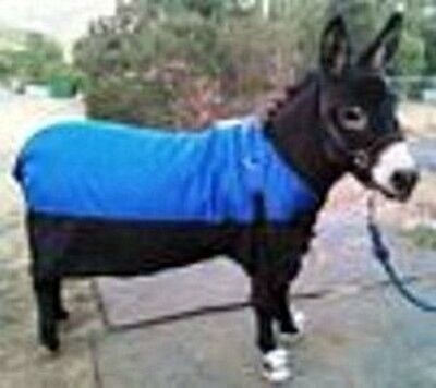 Miniature Donkey Waterproof  Blanket  w/security straps