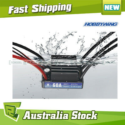 Hobbywing SeaKing 60A Waterproof Brushless ESC V3 w/ BEC for RC Boats