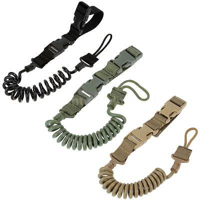 Military Tactical Safety 2Points Belt Pistol Hand Gun Sling Paintball Strap R1E2