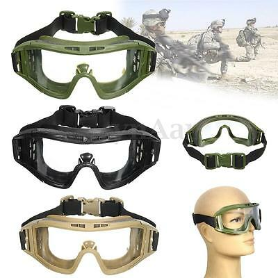 CS Airsoft Tactical SWAT Safety Goggles Glasses Eye Protection Mask Eyewear