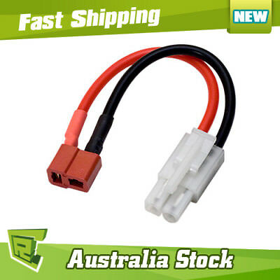 Lipo Male tamiya to Female deans adapter  charger rc hobby boat car 01