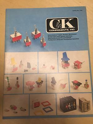 1977 C&K Components Catalog ~ Toggle Rocker Switches Pushbutton Slide