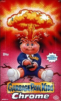 Topps Garbage Pail Kids Chrome Series 1 - 12 Box Case Blowout Cards