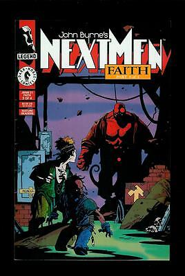 John Byrne's Next Men # 21 (Dark Horse, Dec 1993, Faith Part 3) 1st Hellboy