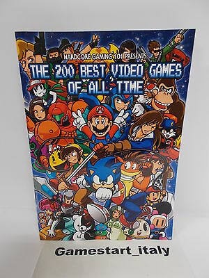 The 200 Best Video Games Of All Time Color Edition - Nuovo New - Rare