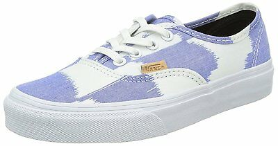 New Vans Authentic Ca Glitch Check Blue White Shoes Mens 11.5 Skate Big  Checkers 4b8ba6bf1