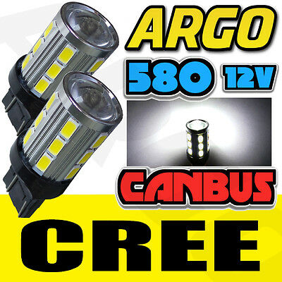 2x T20 CANBUS LED SIDELIGHT 580 7443 BULBS VAUXHALL CORSA D ASTRA GTC INSIGNIA