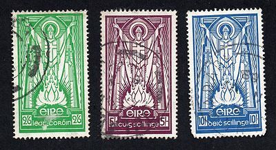Ireland 1937 St Patricks Used Stamps ~ See scans in Description