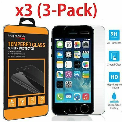 High Quality Film Real Premium Tempered Glass Screen Protector for iPhone SE