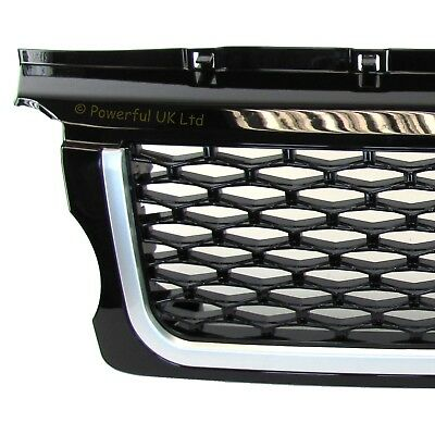 Java black 2010 Autobiography style front grille for Range Rover SPORT 05-09