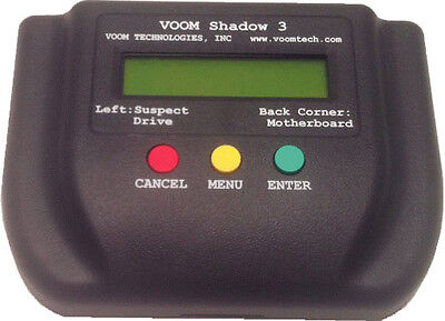 Voom Shadow3 Forensics Analysis Device w/Write Blocker HDD Hard Disk Duplicator