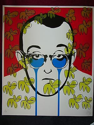 PURE EVIL As seen on TV 4 rooms & Telegraph KEITH HARING UNIQUE 1/1 85 x 70 cm A