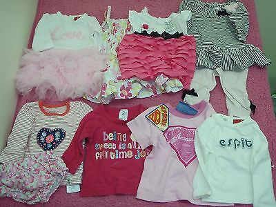 baby girls size 000 clothes superbaby top new nwt & pre loved esprit & cotton on