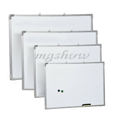 Office School Small Medium Large Magnetic Whiteboard Dry Wipe Drawing Board Pens