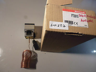 FTS015 Honeywell thermostat antigel 0-10VDC, antfreeze thermostat 6m, 24VAC