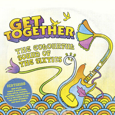Various Artists : Get Together: The Colourful Sound of the Sixties CD 3 discs