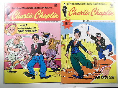 CHARLIE CHAPLIN  #  1 + 2  ( BSV / Williams )