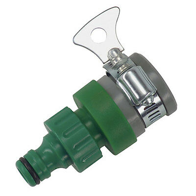 """1/2"""" water Tap Hose Connector Male Garden Pipe Fitting Jubilee Clip Outdoor fast"""