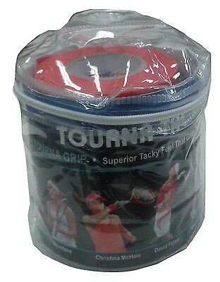 Tourna Tac XL Tour Travel 30 Pouch tennis badminton racquet racket Over grip