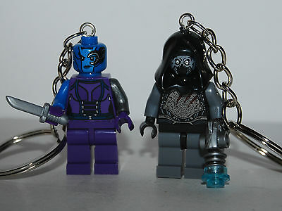 Nebula & Ronan The Accuser Keychain -  Guardians Of The Galaxy