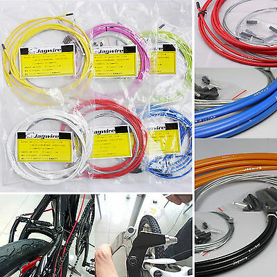 Jagwire Bicycly Braided Housing Cable Complete Kit Brake Shifter Bike Wire Gear