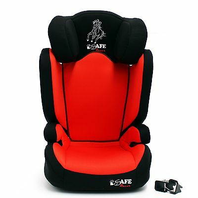 iSafe Carseat Kid Junior Isofix Group 2-3 RACER 15-36kg Baby Child Toddler