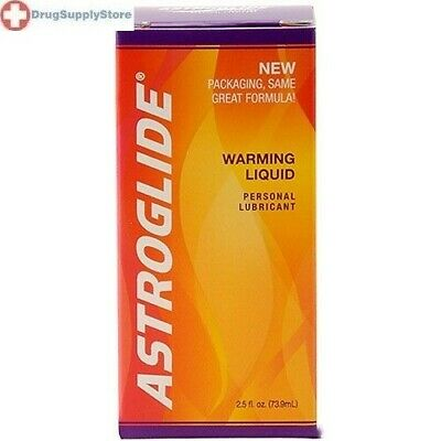 Astroglide Warming Water Based Personal Lubricant 2.5 Oz