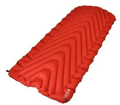 Klymit New Insulated Static V Luxury Red Inflatable 4-Season Camping Pad Mat
