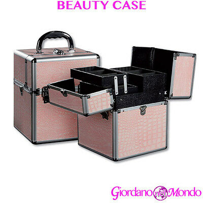 Beauty Case Nail Art Trucchi Make Up Valigia Rigida Professionale Estetista