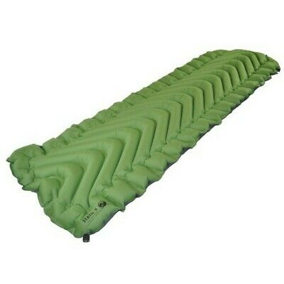 Klymit Static V Green Light Inflatable Sleeping Pad Mat Camping Hiking Trekking